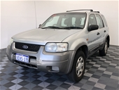 Unreserved 2005 Ford Escape XLS ZB Automatic Wagon