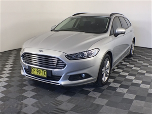 2015 Ford Mondeo Ambiente MD Automatic W