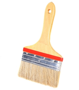2 x Pure Bristle Paint Brushes 150mm & 1