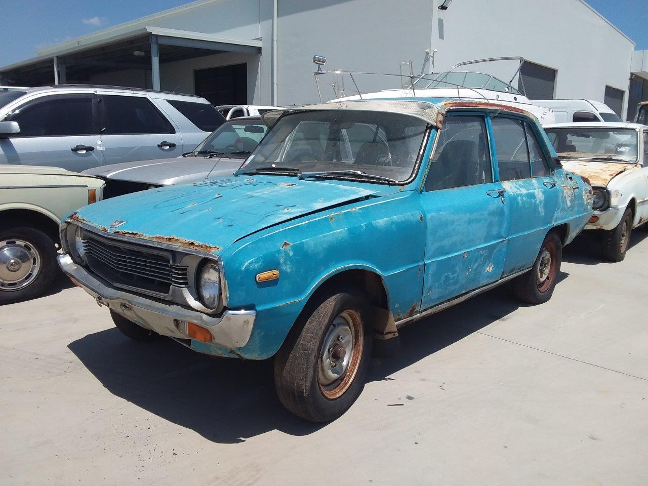1974 Mazda 1300 Manual Sedan