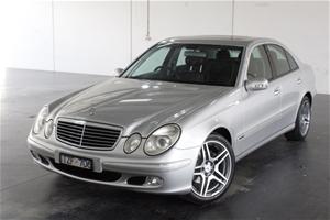2003 Mercedes Benz E240 Elegance W211 Au