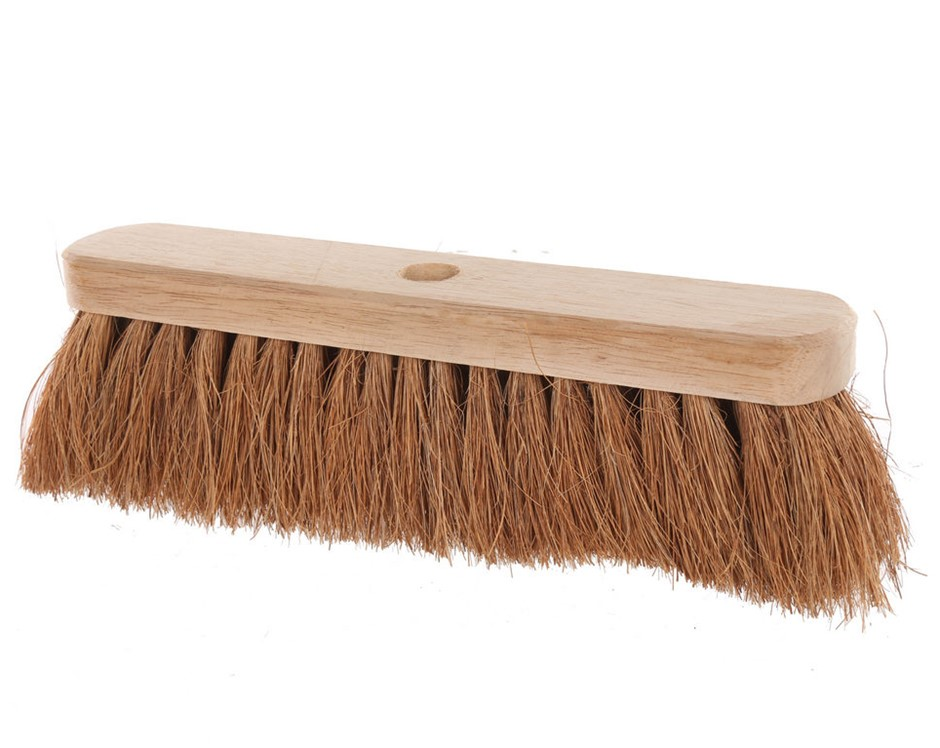 10 x COTSWORLD Natural Coco Brooms 300mm. (SN:CW4077) (268035-183)