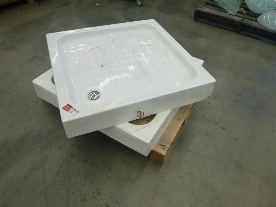 2x Shower Floor / Bases