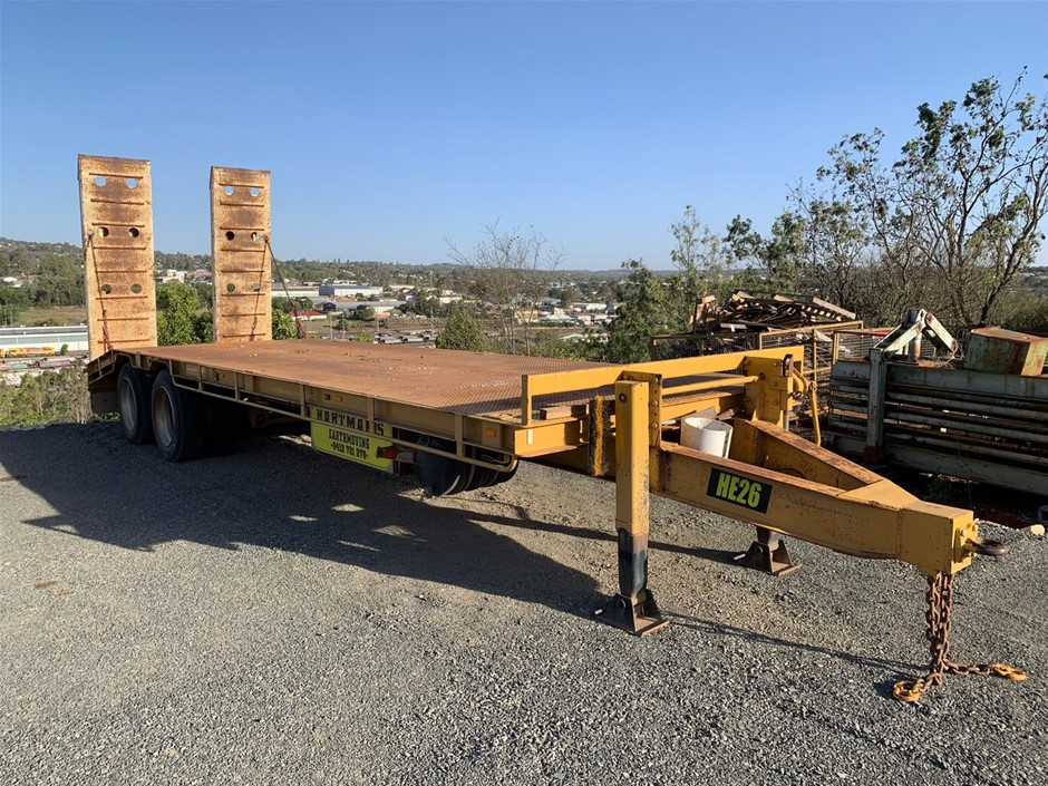 2009 WH Trailers (Western Hi-Way) Tandem Tag Trailer