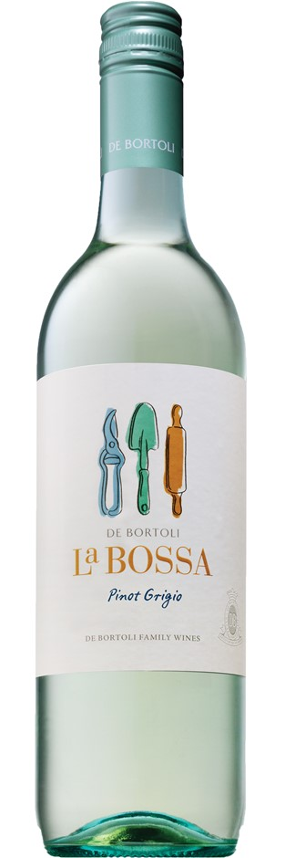 La Bossa Pinot Grigio 2019 (6x 750mL). SEA. Screwcap.