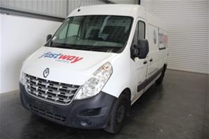 2012 Renault Master Extra Long Wheel Bas