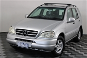 Unreserved 2000 Mercedes Benz ML 320 (4x4) W163
