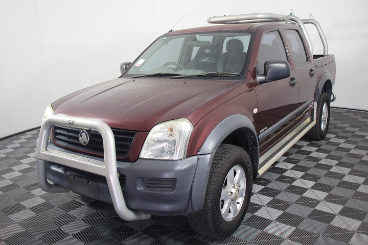 2003 Holden Rodeo LX RA Dual Cab