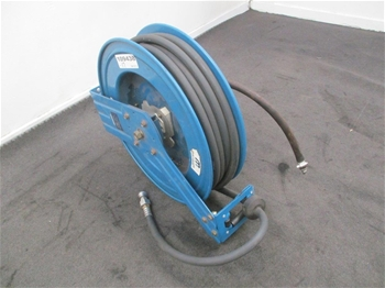 Qty of MacNaught MAS 1220-01 Hi-Power Air Hose with Reel