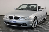 2003 BMW 3 30Ci E46 Automatic Convertible