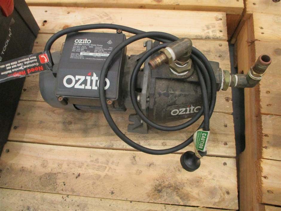 Ozito Transfer Water Pump