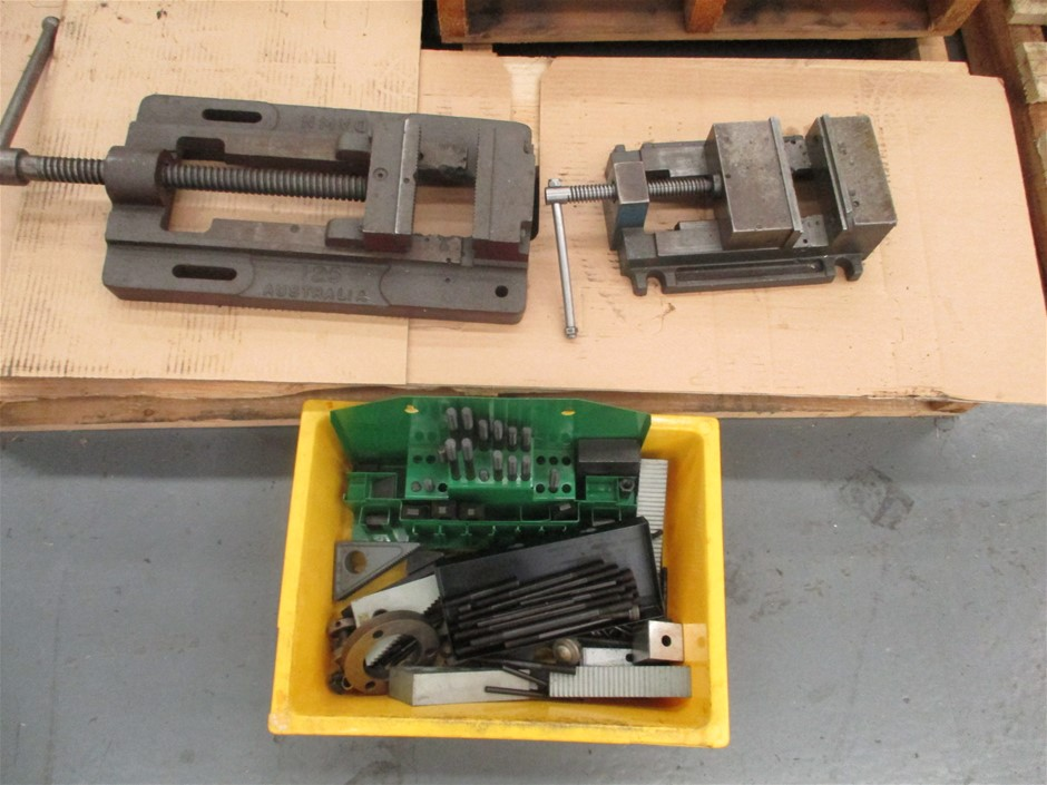 Assorted Machining Parts Comprising