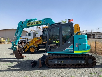 Earthmoving Machines & Parts