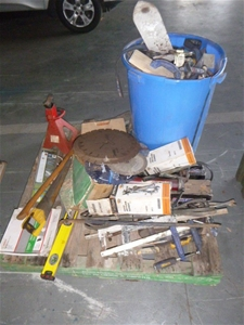 Large Quantity of Building Tools