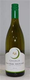 Jean-Marc Brocard `Grand Vin De Bourgogne` Chablis 2018 (6x 750mL),