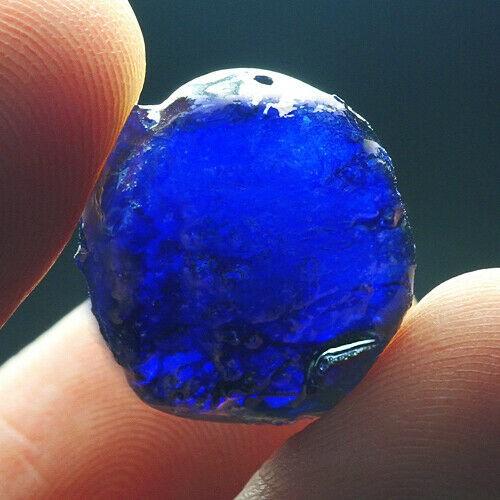 21.85Ct Blue Sapphire Facet Rough Specimen