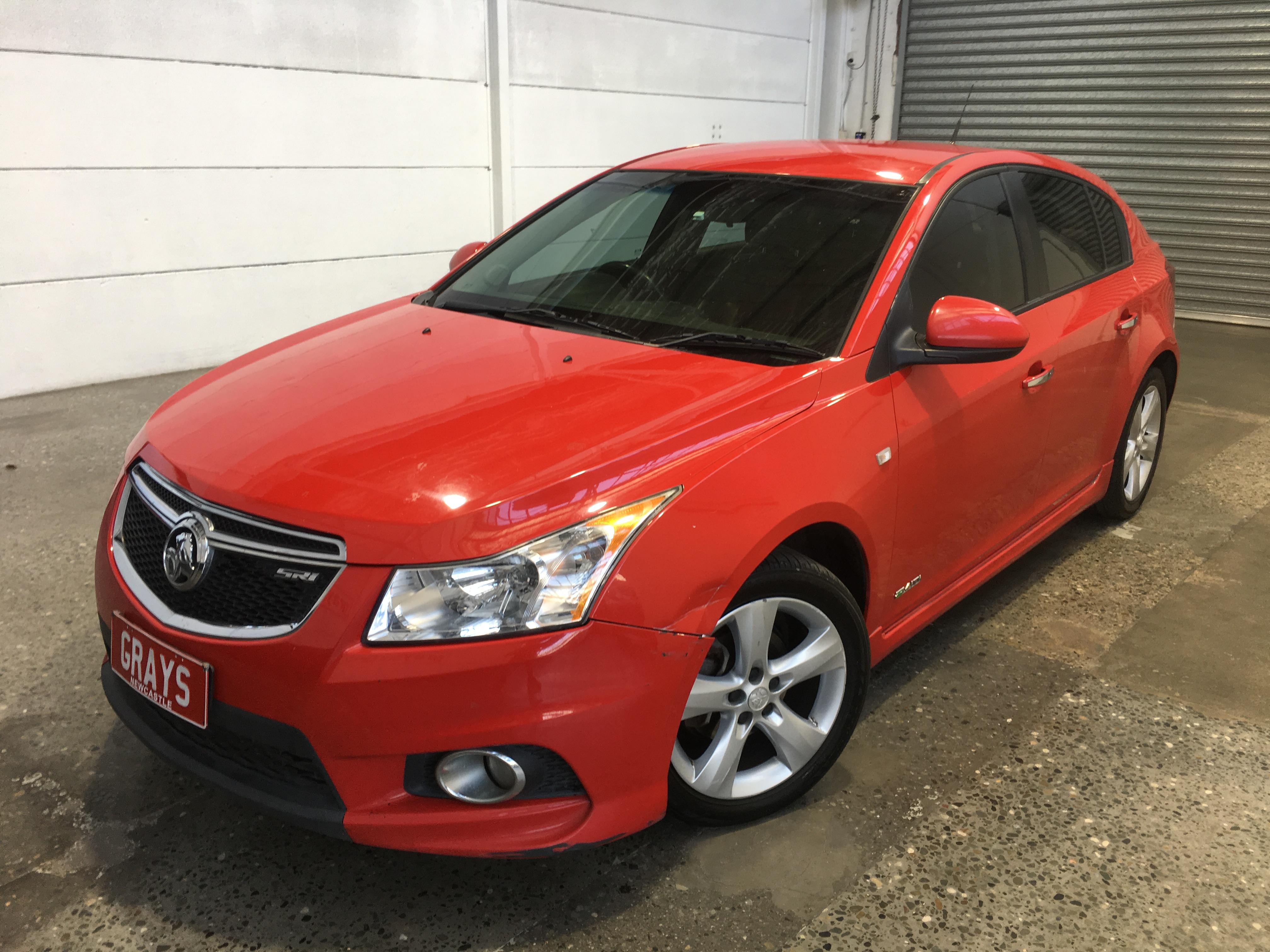 2012 Holden Cruze SRi V JH Manual Hatchback
