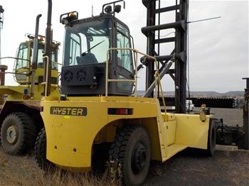 2008 Hyster H22.00XM-12EC Container Handler Forklift