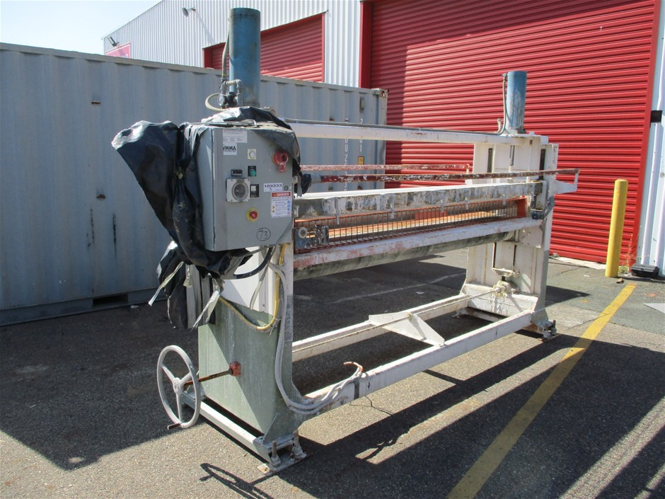 2007 Black Bros RPP 875 Roller Hydraulic Press