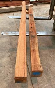 Red Ironbark Posts x2