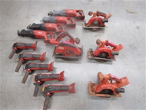 13x Assorted Hilti Cordless Power Tools