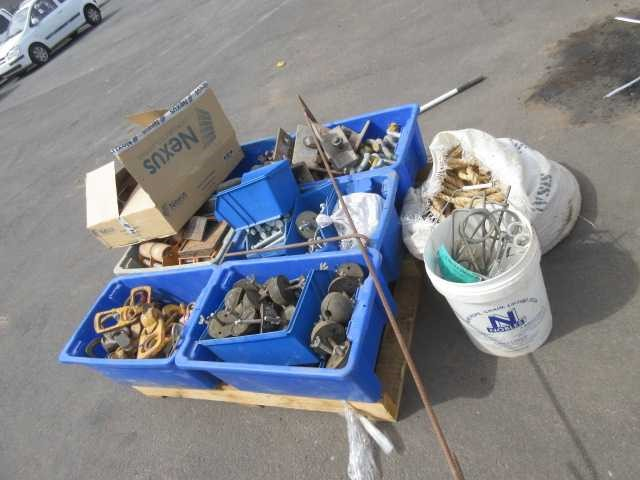 Pallet of Lifting and Rigging Accessories