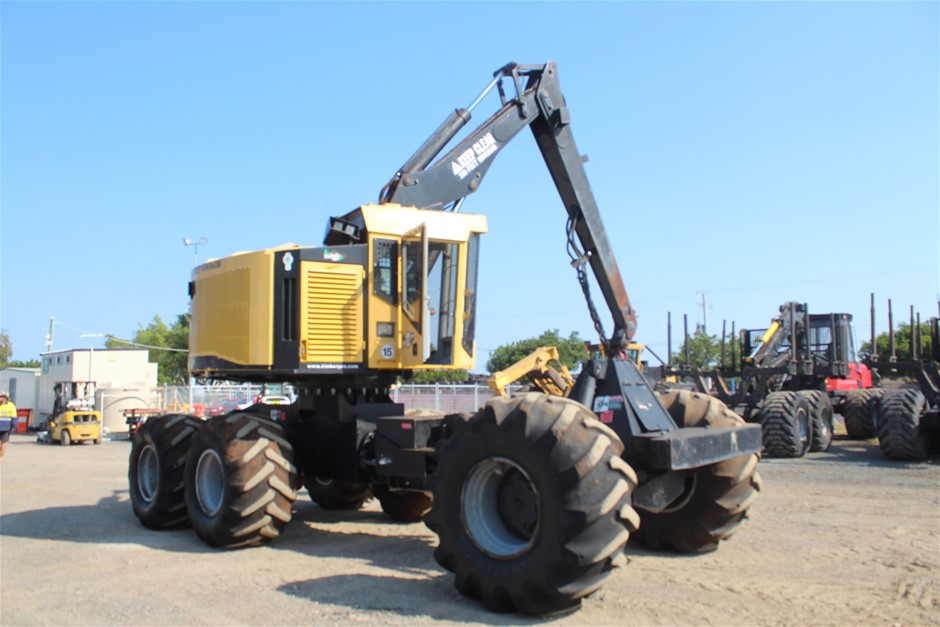 2013 Timber Pro TB630B with Harvester