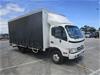 2008 Hino 300/816 4 x 2 Curtainsider Rigid Truck