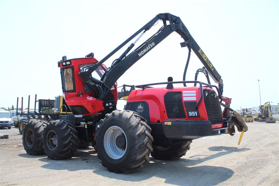 2016 Komatsu 951 Harvester with Waratah