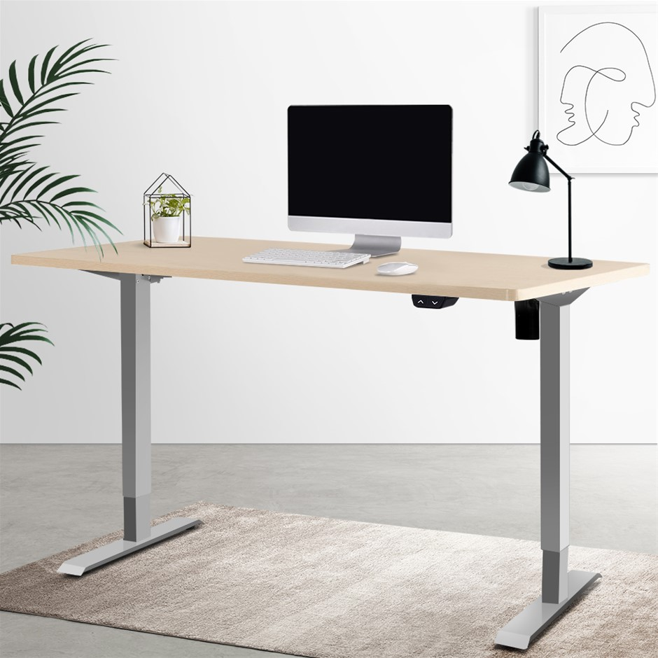 Artiss Standing Desk Stand Table Height Adjustable Electric 100cm Desktop