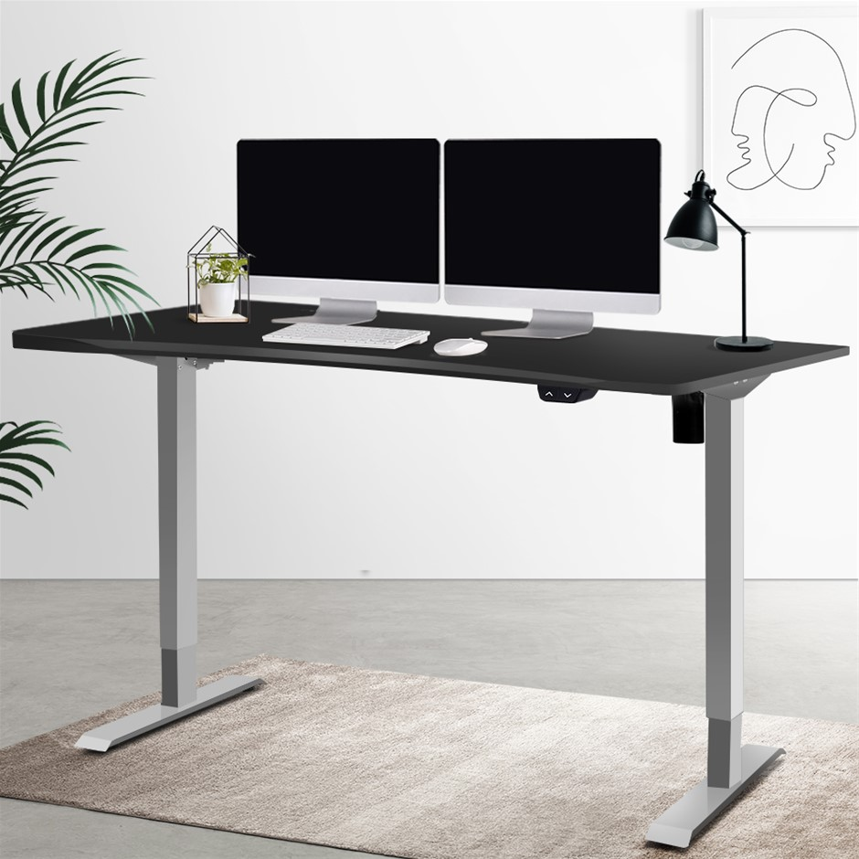 Artiss Standing Desk Height Adjustable Motorised w/ Curved Desk Top