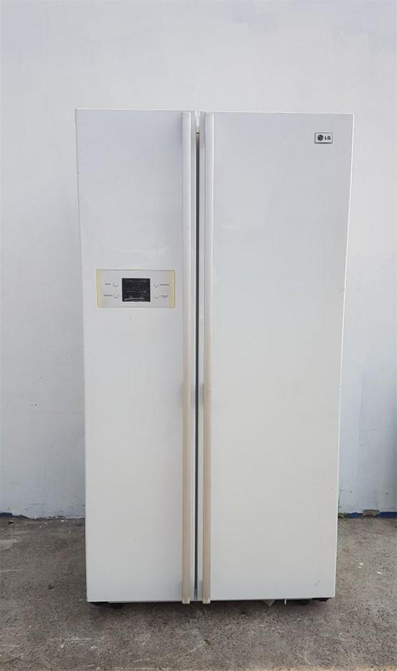 LG MODEL GCB197WFS FRENCH DOOR UPRIGHT FRIDGE /FREEZER TOUCH PAD ON DOOR HE
