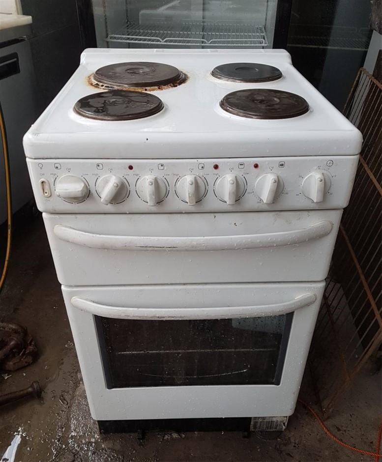ELECTRIC 4 BURNER OVEN /STOVE INCLUDING GRILL 3 TER ADJUSTABLE COOKING SHEL