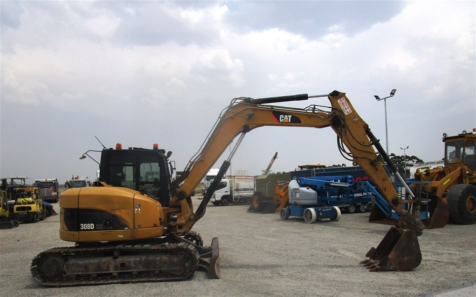 Caterpillar Hydraulic Excavator, 308D CR