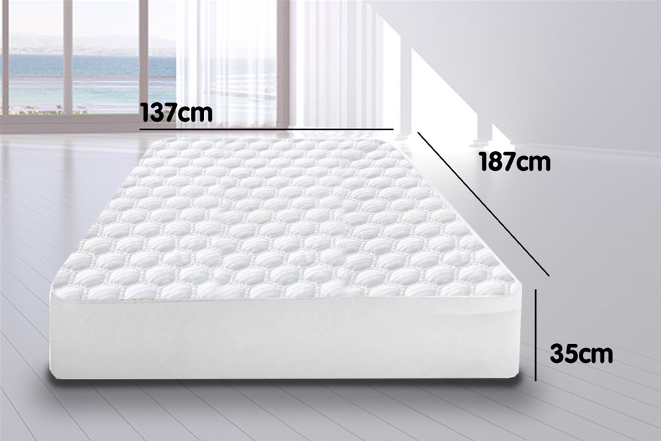 Laura Hill Fitted Cool Max Mattress Protector - Double Size