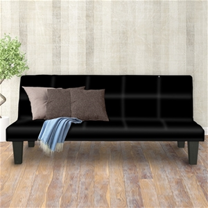 2 Seater Modular Faux Leather Fabric Sof