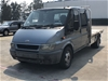 Ford Transit VH Turbo Diesel Manual Cab Chassis