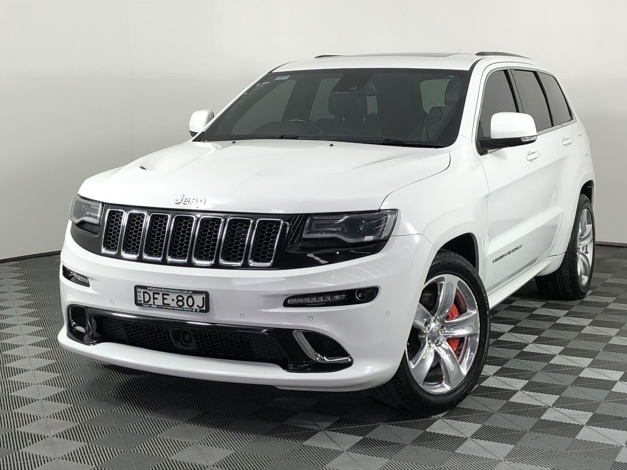 2013 Jeep Grand Cherokee SRT-8 WK Automatic - 8 Speed Wagon