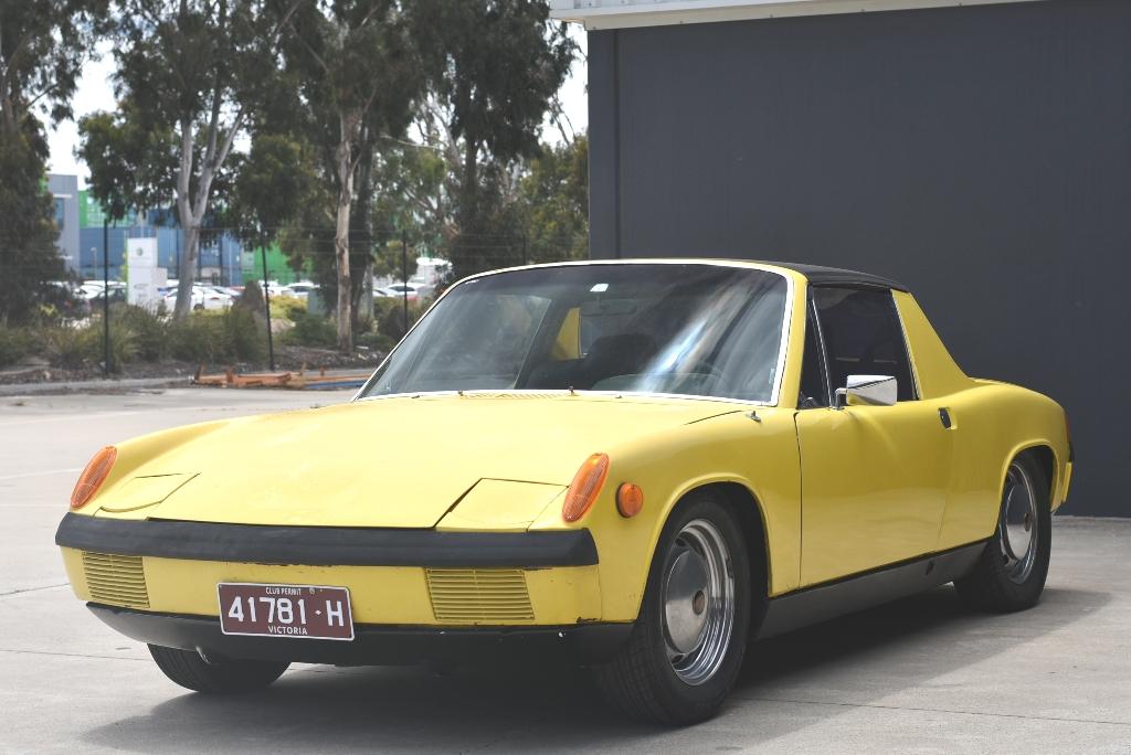 1970 Porsche 914 Manual Coupe/Targa