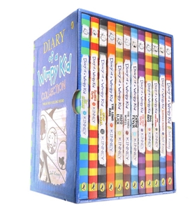 12 x DIARY OF A WHIMPY KID Collection Bo