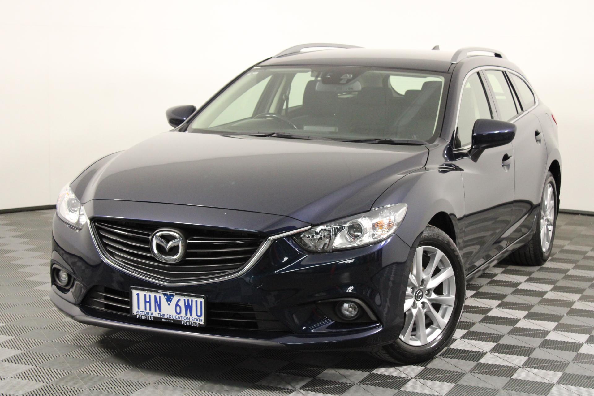 2016 Mazda 6 Sport GJ Automatic Wagon (EX GOV)