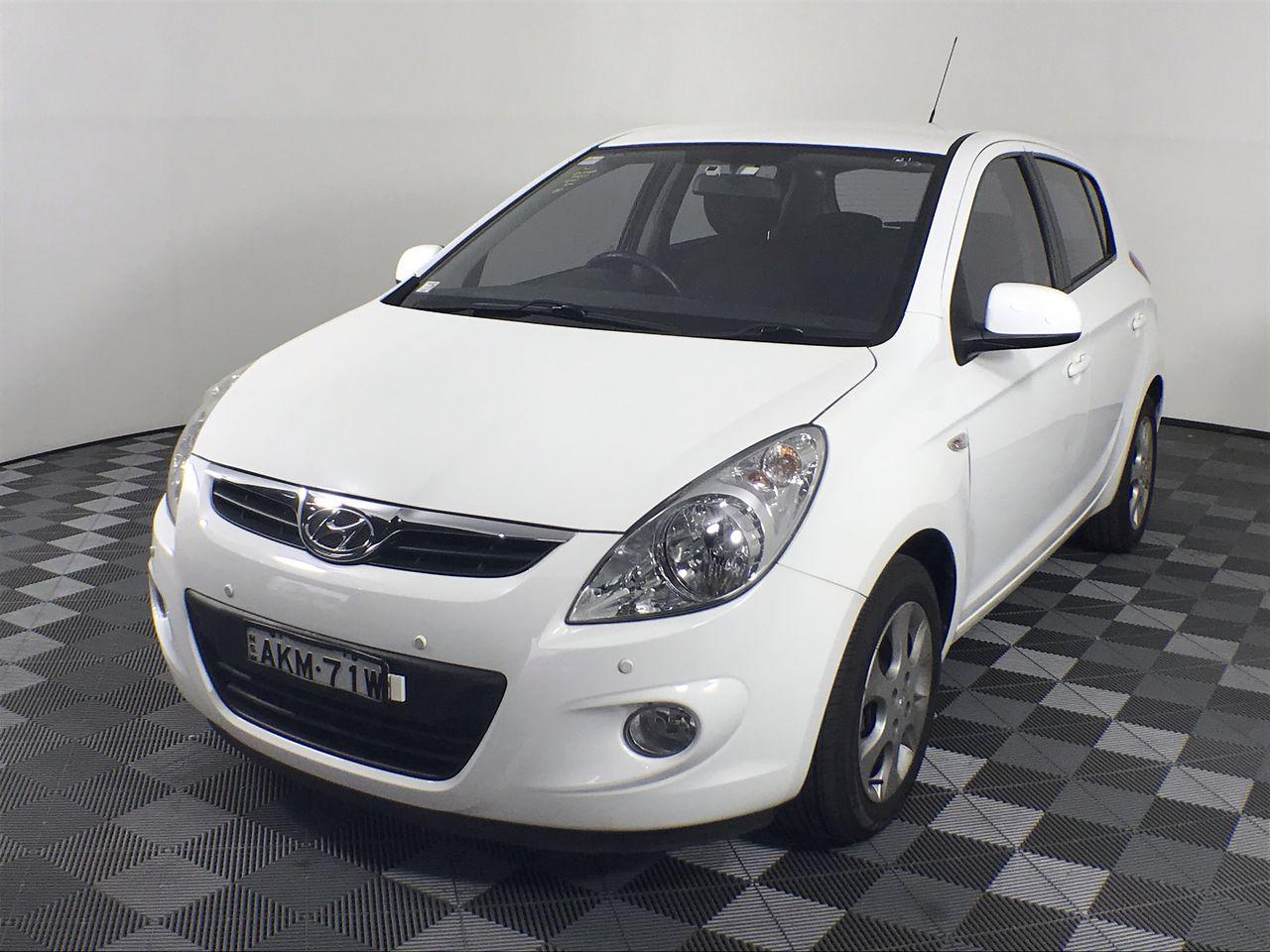 2011 Hyundai i20 Elite PB Automatic Hatchback 60,759km