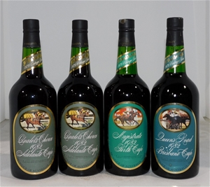 St Hallett Assorted `Cup` Vintage Port 1