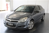 Unreserved 2008 Holden Astra CDX AH Automatic