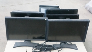 Pallet Of Assorted Brand Monitors Approx