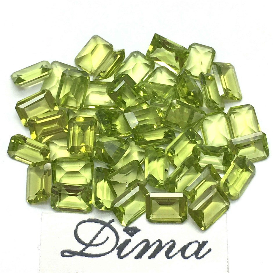 Forty Five Loose Peridots 40.92ct in Total