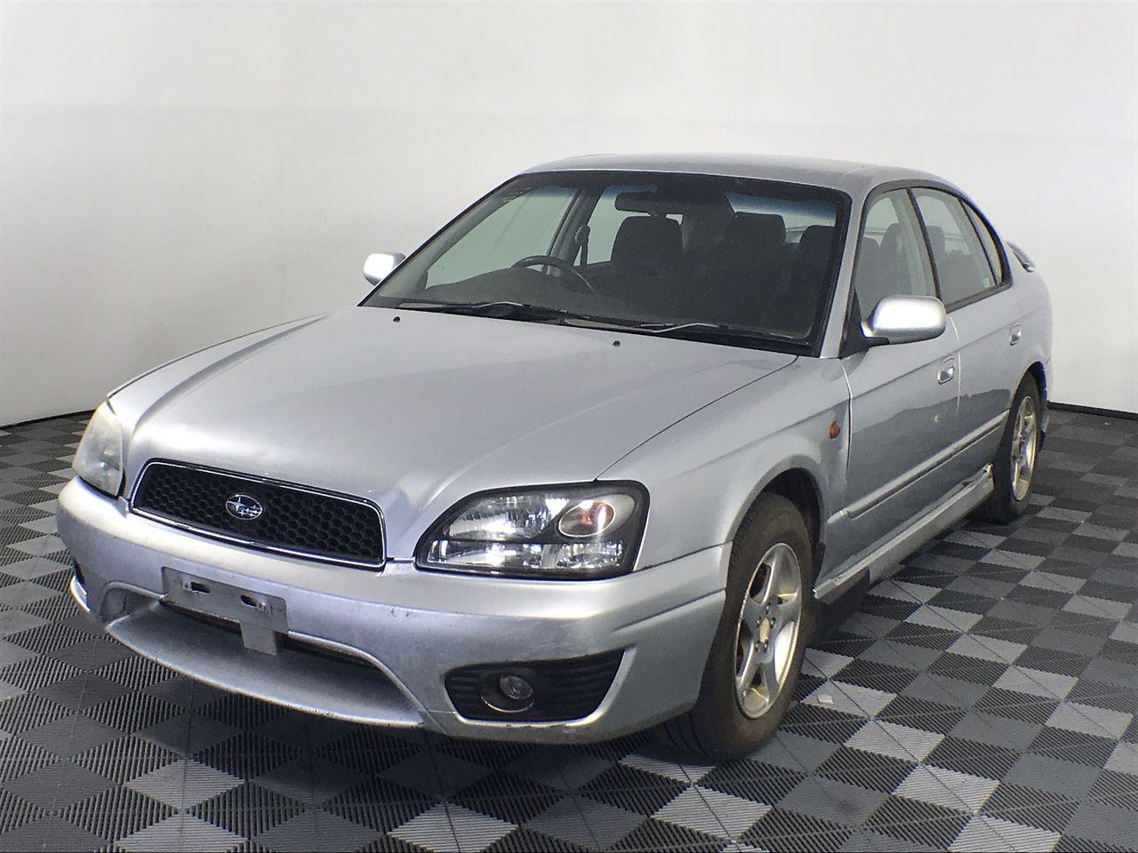 2002 Subaru Liberty RX B3 Manual Sedan