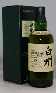 Suntory Hakushu 12 YO Single Malt Whisky