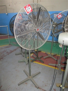 Assorted Electric Workshop Fans
