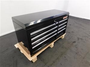 Fuller Pro 489-1108B Black 8 Drawer Tool